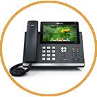 טלפוני IP - טלפון חכם מדם SIP-T48G