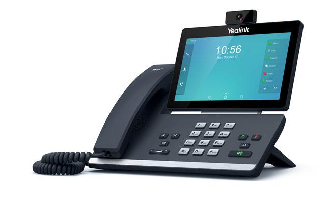 טלפון IP T58V, לויקום תקשורת