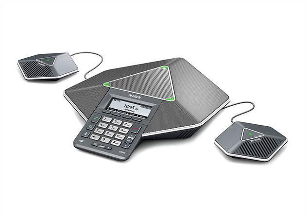 CP860 טלפון ועידה איכותי לחדרי ישיבות קטנים ובינוניים