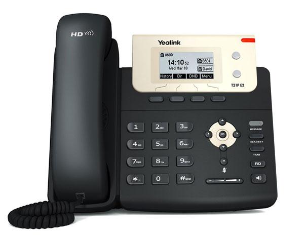 טלפון IP SIP-T21P, לויקום תקשורת