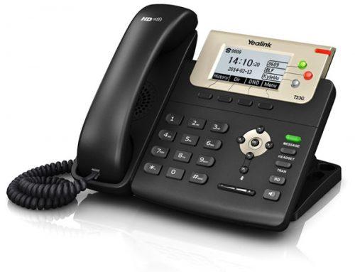 טלפון SIP-T23G IP