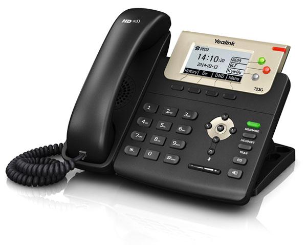 טלפון IP SIP-T23G, לויקום תקשורת