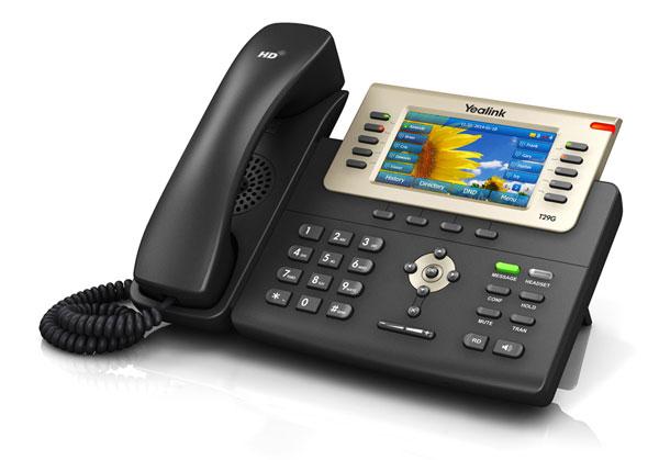 טלפון IP SIP-T29G, לויקום תקשורת