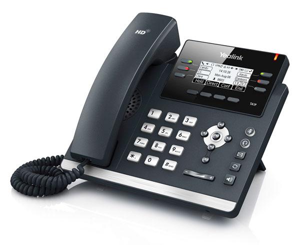טלפון IP SIP-T41P, לויקום תקשורת