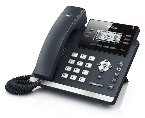 טלפון IP SIP-T42G, לויקום תקשורת