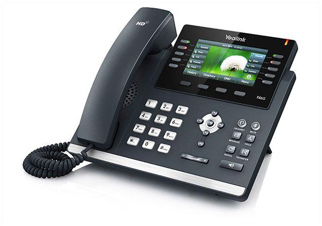 טלפון IP SIP-T46G, לויקום תקשורת