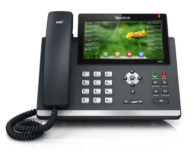 טלפון IP SIP-T48G, לויקום תקשורת