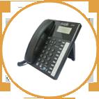 TEL 220 טלפון אנלוגי מתקדם לעסקים עם שיחה מזוהה